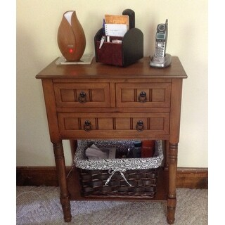Simplify 3-drawer Console Table