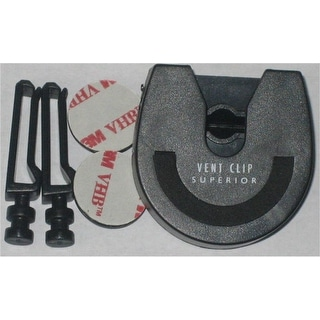 Dell Universal Vent Clip for Car & Swivel Belt Clip - Black