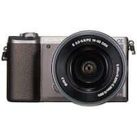 Sony a5100 16-50mm Mirrorless Digital Camera with 3-Inch Flip Up LCD (Brown) - International Model (No Warranty)