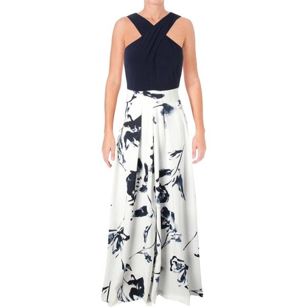 feb8c705be Lauren Ralph Lauren Womens Semi-Formal Dress Floral Print Sleeveless