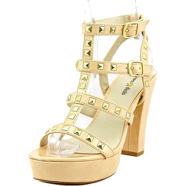 Seven Dials New Age Women Nude Sandals