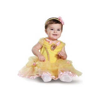 Disguise Belle Deluxe Infant Costume - YELLOW