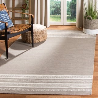 Link to Safavieh Handmade Flatweave Dhurries Shirleen Modern Wool Rug Similar Items in Rugs