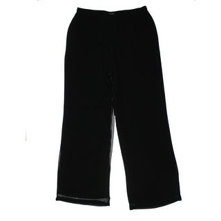 Sanctuary Clothing Womens Juniors Casual Pants Chiffon Wide Leg - M