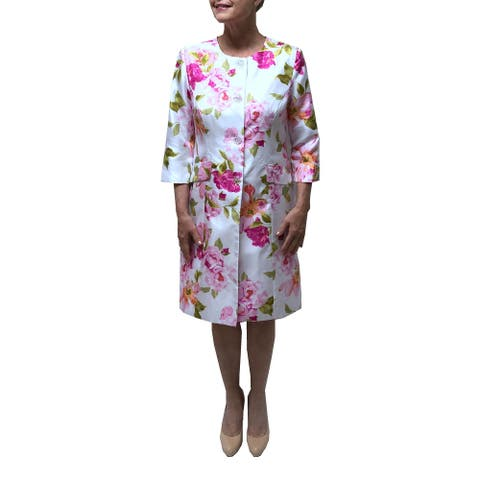 Danillo Shantung Print Dress Suit Style#123866