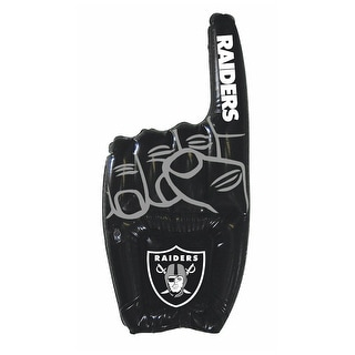 Oakland Raiders NFL Team Logo Inflatable #1 Finger