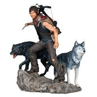 The Walking Dead: Daryl & The Wolves Statue 1:8 Statue - multi