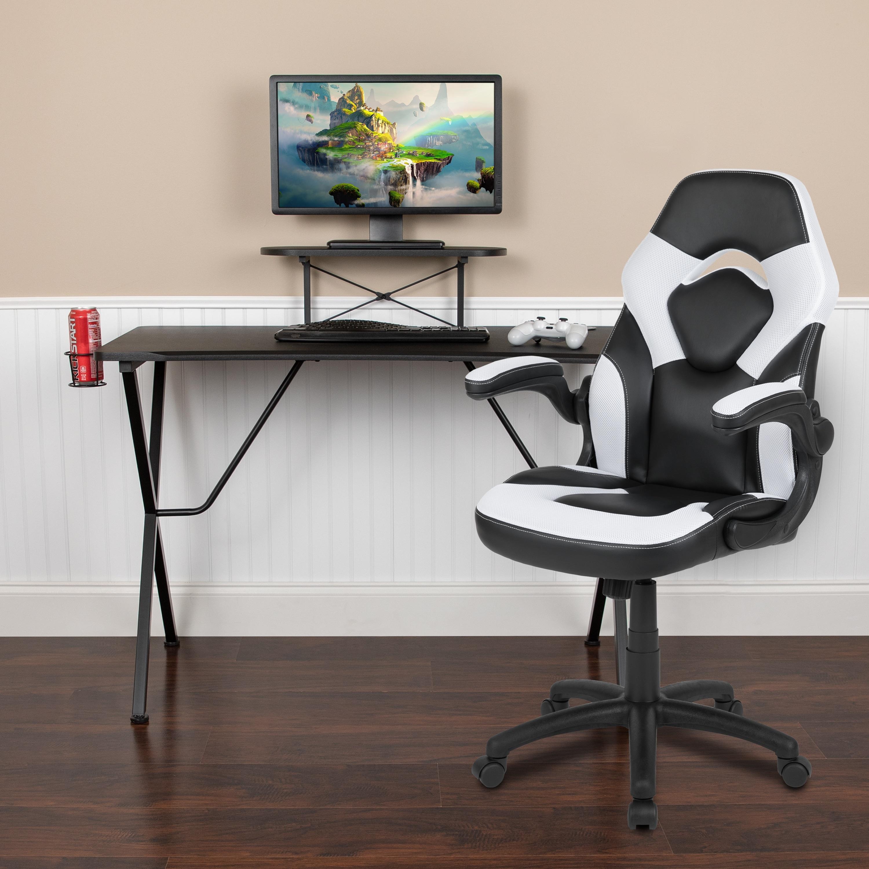 Shop Black Friday Deals On Gaming Desk Chair Set Overstock 31247628