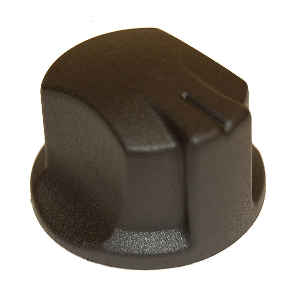 """1.87""""Plastic Control Knob for Charbroil, Kenmore Brand Gas Grills (Black)"""