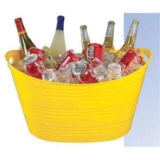 Creative Bath Products PTUB-BY YEL Party Tub - Yellow - Pack of 6