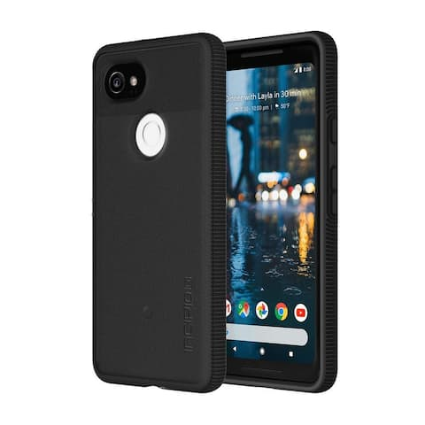 Incipio Octane Case Dual Layer Protection Lightweight for Google Pixel 2 (NOT XL) - Black