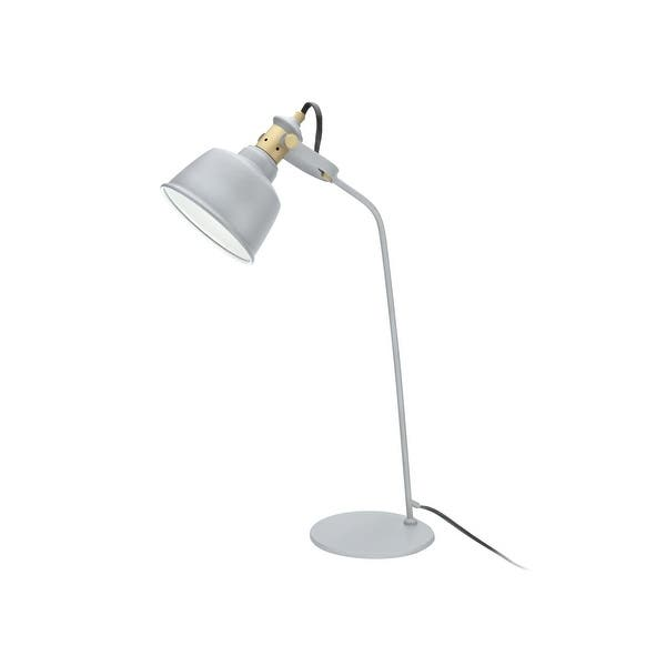 Shop Aspen Creative 24 High Modern Metal Desk Lamp Cement Grey Finish With Metal Lamp Shade 14 3 8 Wide On Sale Overstock 32142940