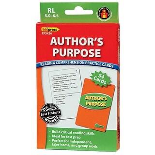 Edupress EP-3426 Authors Purpose Rcpc Green Level