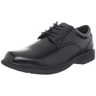 Nunn Bush Mens Baker Street Plain Toe Oxford KORE Slip-Resistant Dress Cas... - 8