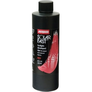 Jacquard Solarfast Dyes 8Oz-Red