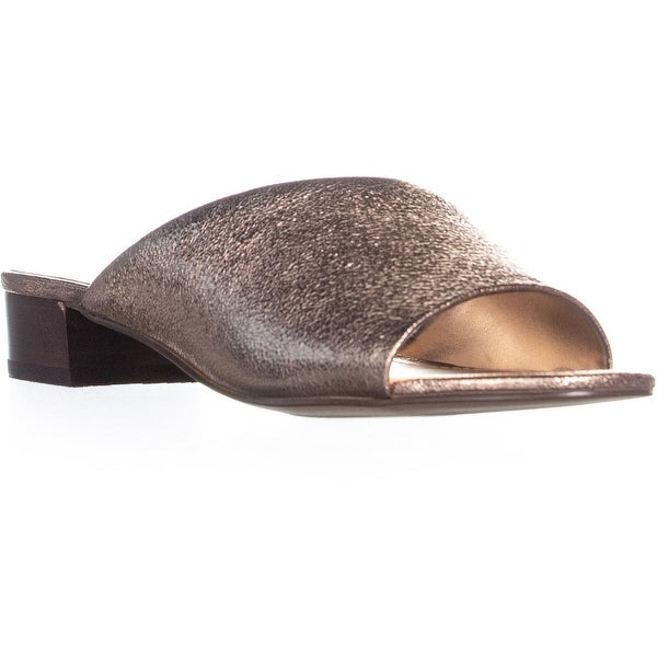 3c03a387db9bb Shop Marc Fisher Oditi Slip On Low Block Heel Sandals, Light Pink ...