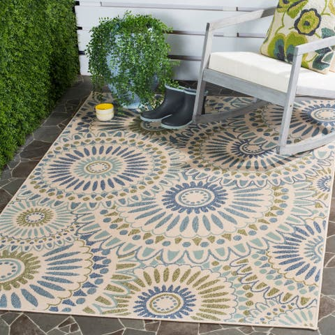 SAFAVIEH Veranda Sissy Indoor/ Outdoor Patio Backyard Rug