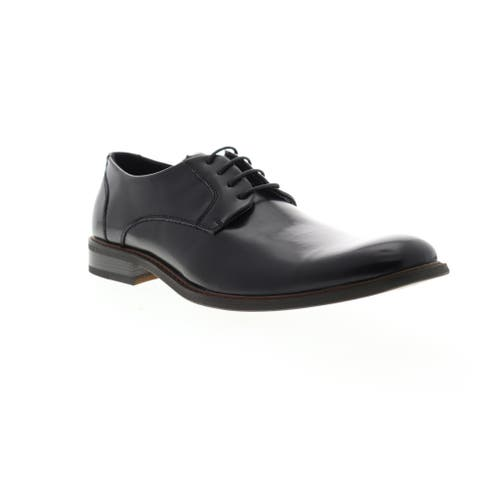 Unlisted by Kenneth Cole Align Ment Black Mens Oxfords Dress