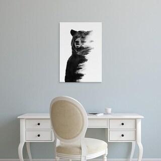 Easy Art Prints Andreas Lie's 'Bear' Premium Canvas Art