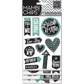 Chipboard Value Pack-Chalk - Look At Me - chalk - look at me