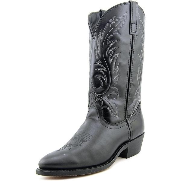 Laredo Kelli Women Round Toe Leather Black Western Boot