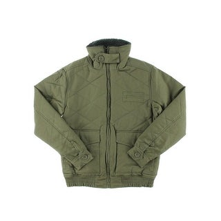 Steve Madden Mens Cotton Quilted Jacket