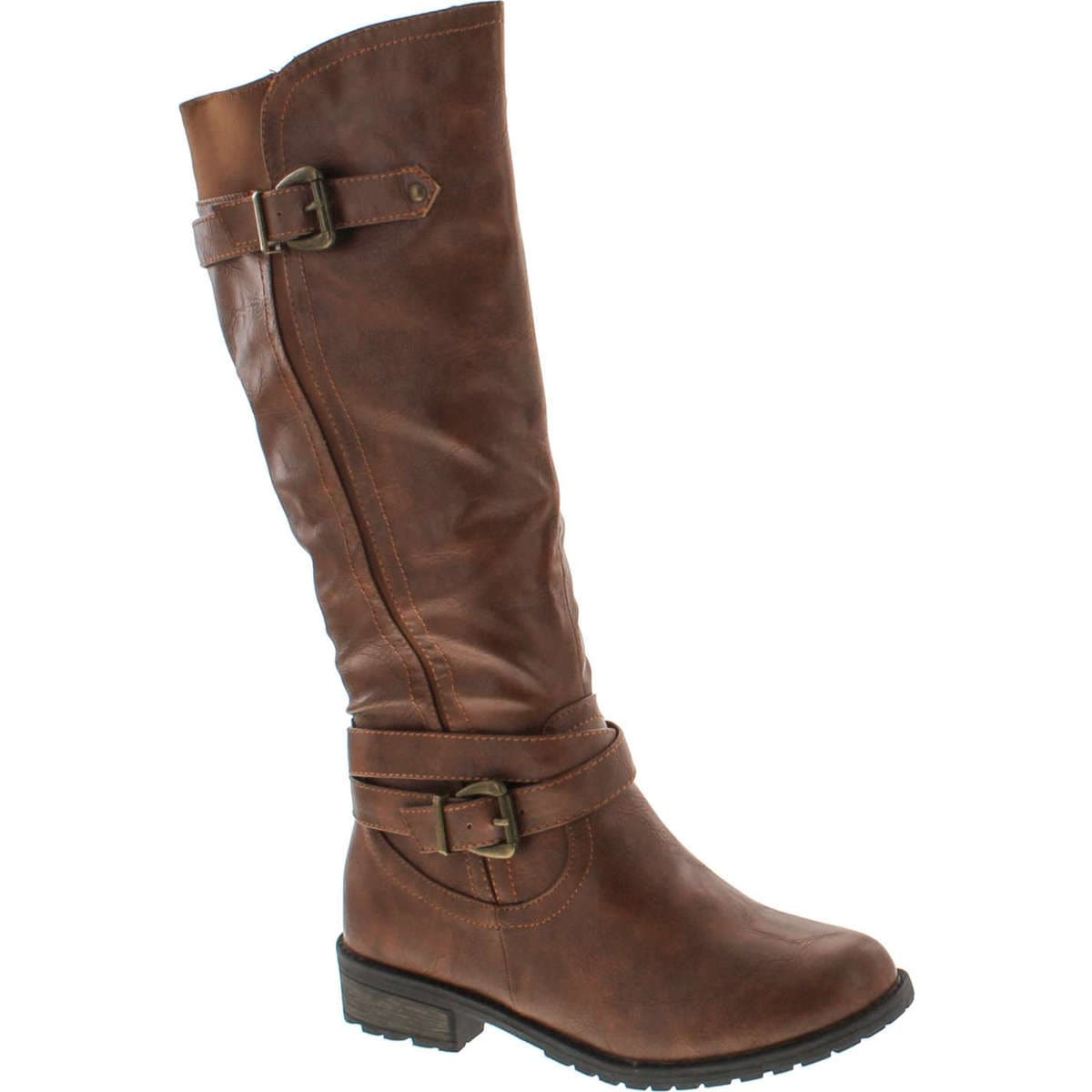 best value high quality guarantee price remains stable Forever Mango-24 Women's Shaft Side Zipper Knee High Flat Riding Boots