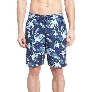 Tommy Bahama Ocean Deep Blue Mens Size 2XL Baja Kraken Swim Trunk