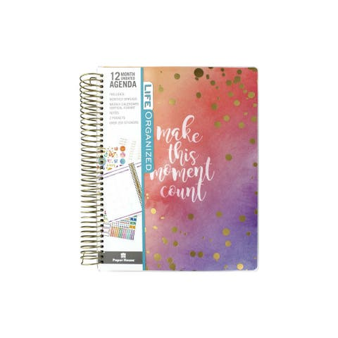 Paper House Planner 12 Month WC Make Moment Count