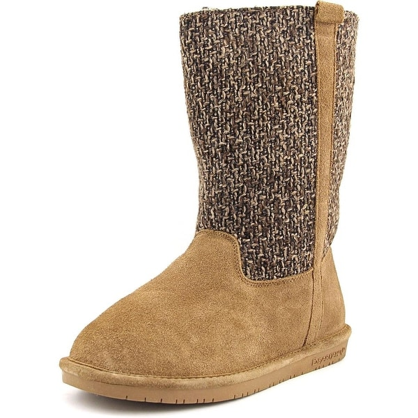 Bearpaw Adrianna Round Toe Suede Winter Boot