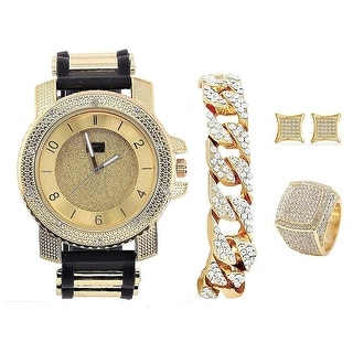 It's Lit! Hip Hop Watch and Jewelry Set