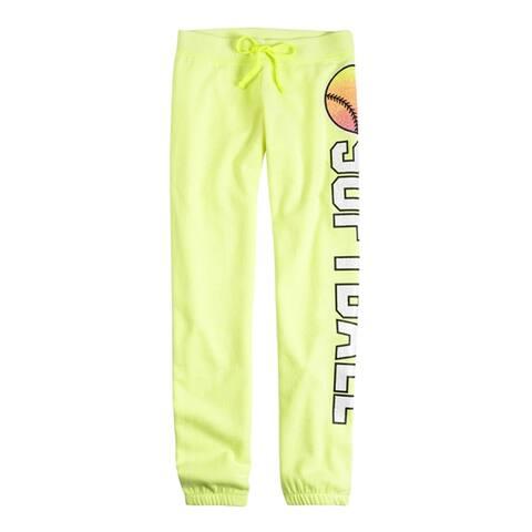 Justice Girls Sports Skinny Cuff Athletic Sweatpants