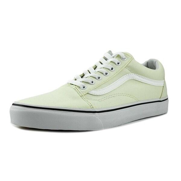 Shop Vans Old Skool Men Round Toe Synthetic Ivory Sneakers - Free ... f00ee32b1323