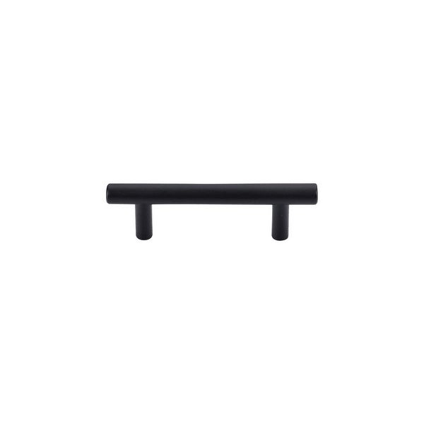 Top S M987 Hopewell 3 Center To Bar Cabinet Pull From The Pulls Series Flat Black Free Shipping On Orders Over 45