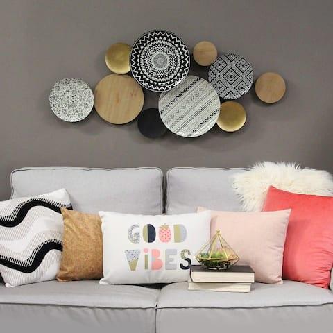 Porch & Den Boho Plates Wall Decor