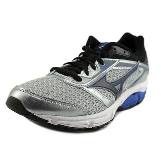 Mizuno Wave Impetus 4 Men  Round Toe Synthetic Silver Running Shoe