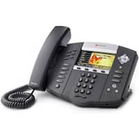 Refurbished Polycom SoundPoint IP 670 (2200-12670-025) SoundPoint IP 670 6-Line IP Phone (POE)
