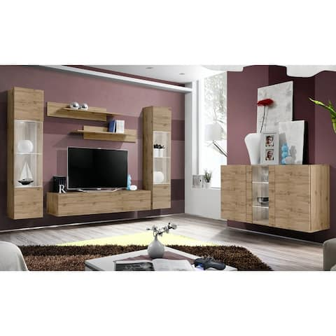 Fly SBI-A3 Wall Mounted Floating Modern Entertainment Center