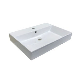 "Link to WS Bath Collections Energy 60 Energy 23-5/8"" Ceramic Vessel/Drop in or Similar Items in Sinks"