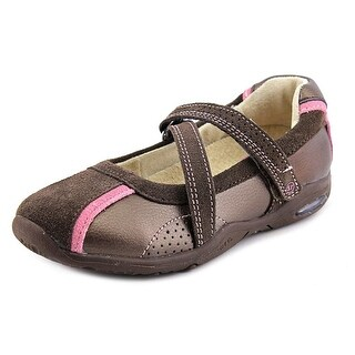Stride Rite Kyla Mary Jane Flats Round Toe Leather Mary Janes