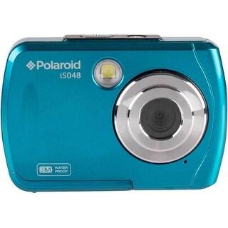 Polaroid IS048 16MP Waterproof Digital Camera (Teal) - TEAL