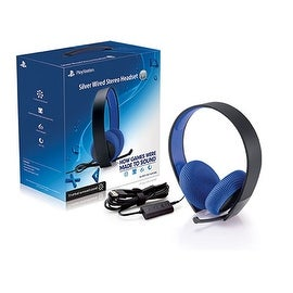 Sony PlayStation 4 Silver Wired Stereo Headset