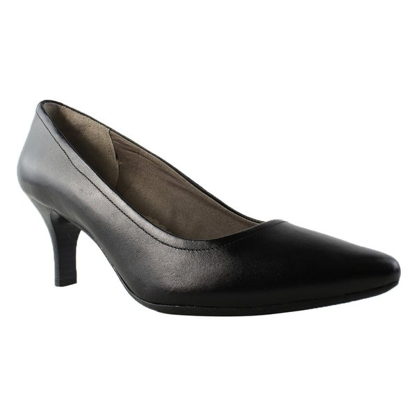 0f223d18c0aa Shop Rockport Womens Comfortcravingpilotpath Black Pumps Size 10 - Free  Shipping On Orders Over  45 - Overstock.com - 22900914