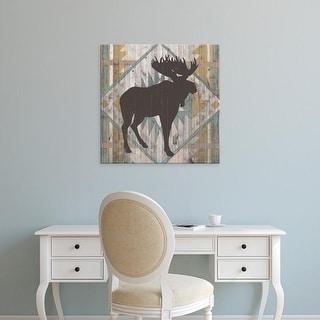 Easy Art Prints Vision Studio's 'Southwest Lodge Animals IV' Premium Canvas Art