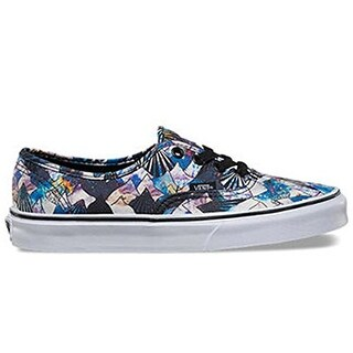 Vans Authentic (Nebula Mountain) Sneakers Black/True White Size 3.5 Men/5 Women