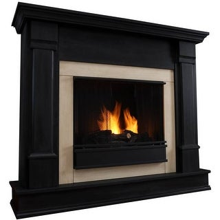 Real Flame G8600 Silverton Gel Fireplace - White