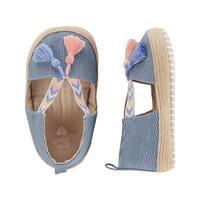 OshKosh Baby Girls' Tasseled Espadrille Crib Shoes
