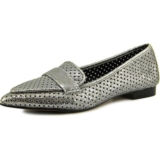 Donald J Pliner Ava Pointed Toe Leather Flats