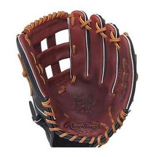 "Rawlings Adult Blem 12.75"" H-Web Lefty Outfield Baseball Glove LHT PRO303BH-RH"