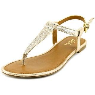 Wild Pair Piru Open Toe Synthetic Thong Sandal